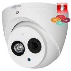 Гибридная видеокамера DH-HAC-HDW1220EMP-A-0360B Dahua